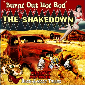 New CD Burnt Out Hot Rod Car